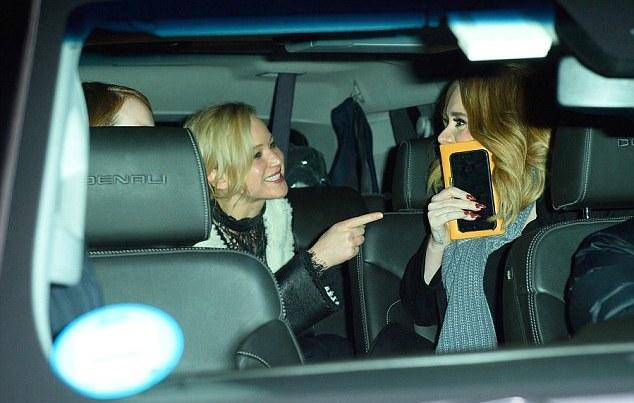 Jennifer Lawrence Adele