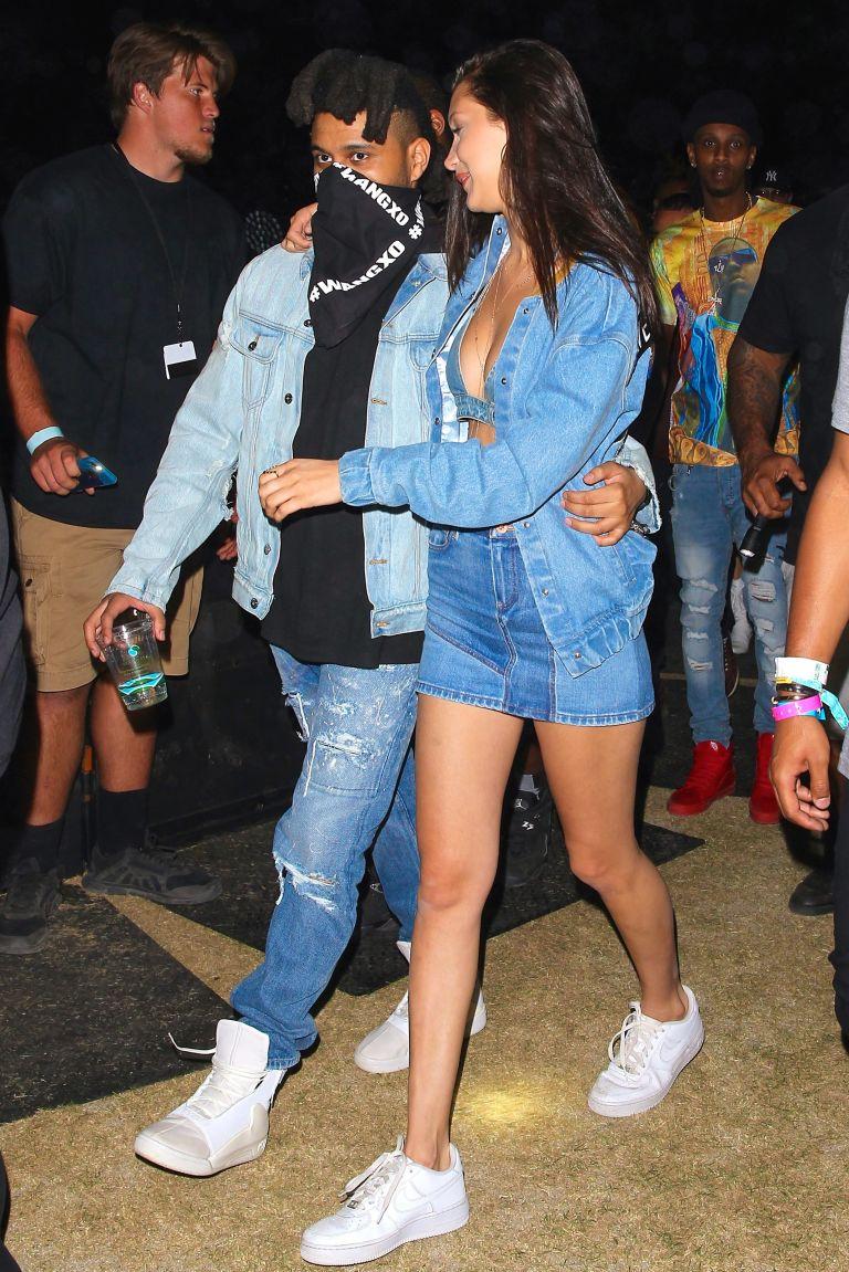 Celebrity fashion at Coachella Bella hadid