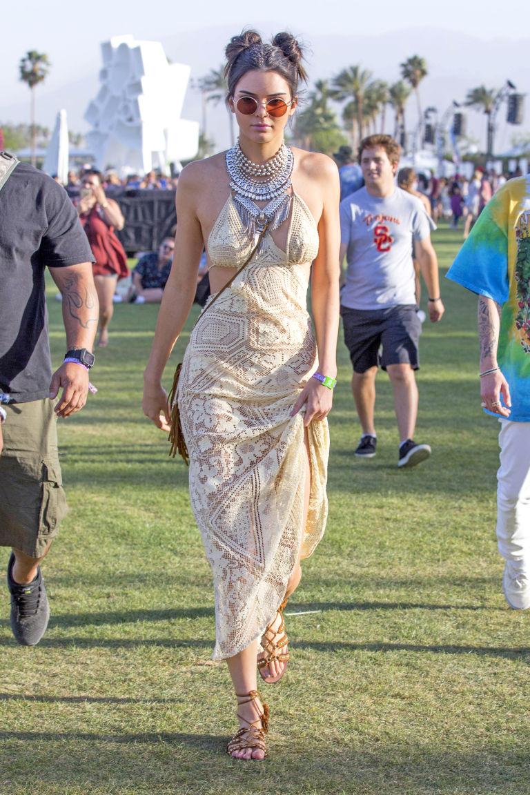 Celebrity fashion at Coachella Kendall Jenner