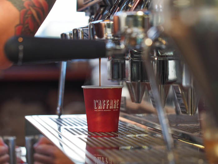 L'affare's first Auckland cafe!