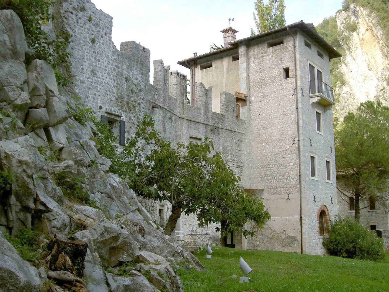 castrum of serravalle italy