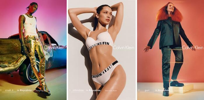 Calvin Klein Frank Ocean Bella Hadid