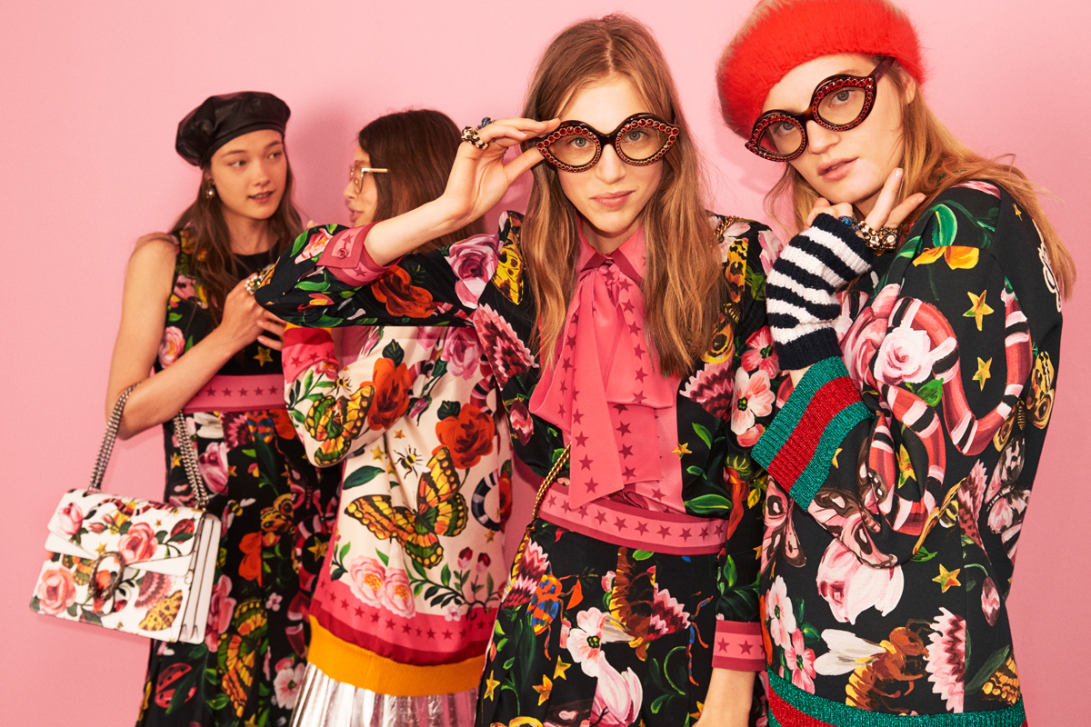Gucci: Launches the new collection of online-http://re-elfashion.com/