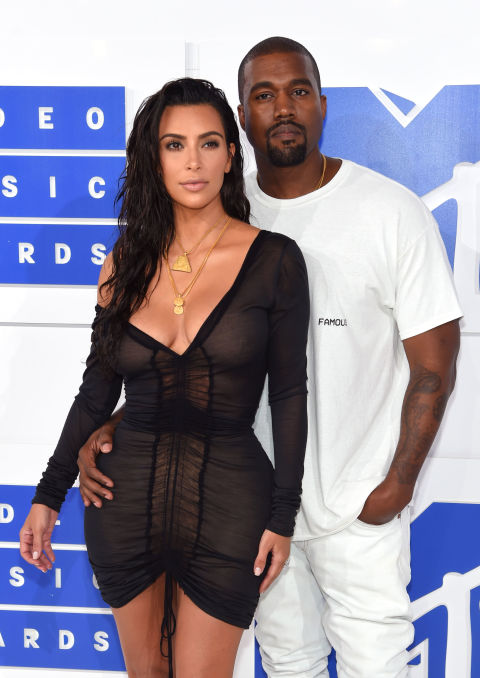 VMA's red carpet Kim and Kanye